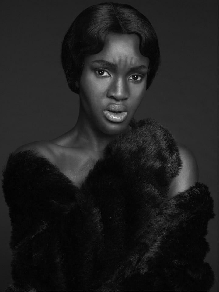 Flawless Dark Female